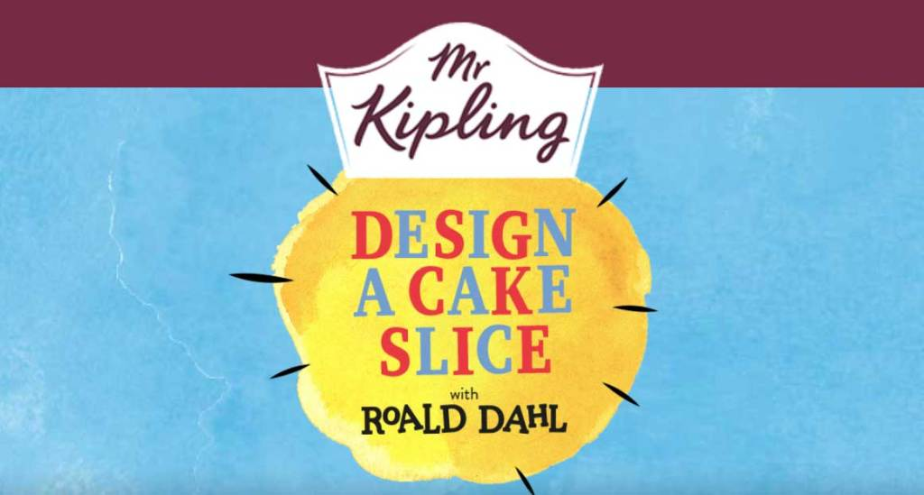 Design a Mr Kipling Cake Slice