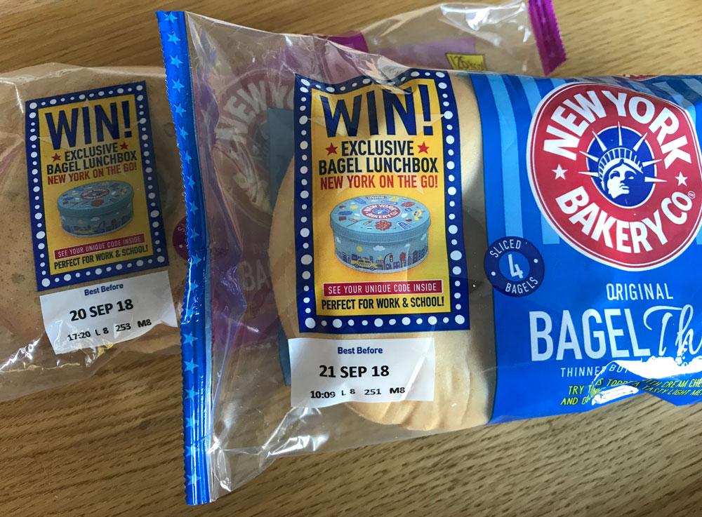 Win 500 bagel lunchbox tins every week | SuperLucky