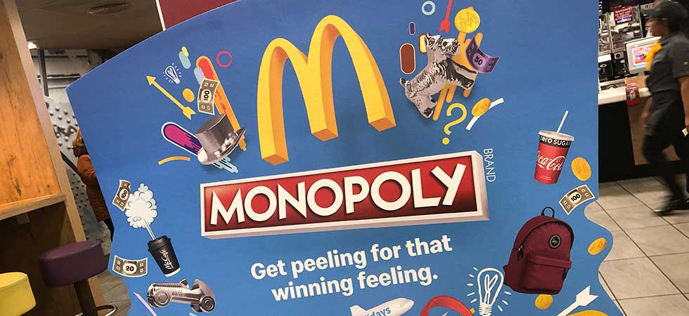 Mcdonalds gewinnspiel monopoly 2019