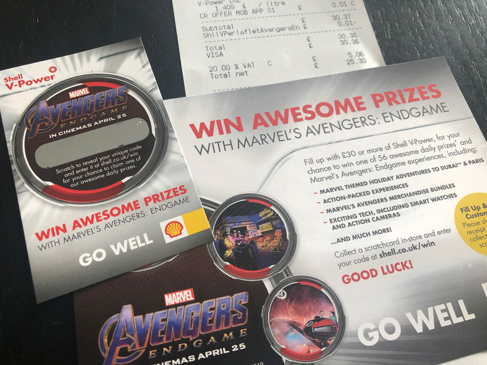 Win awesome Avengers prizes every day | SuperLucky