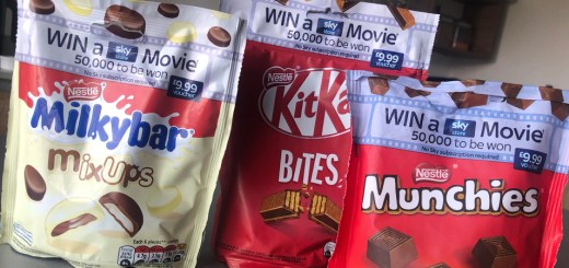 Win Sky Store Movies with Nestle Sharing Bags