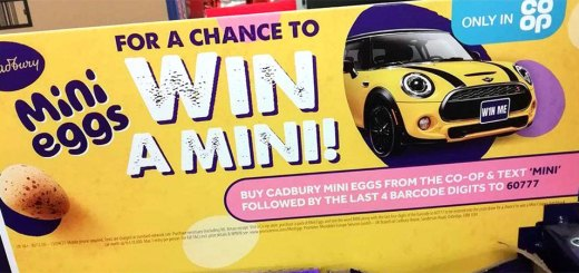 Win a Mini with Mini Eggs