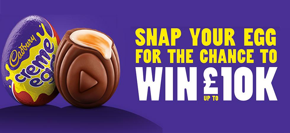 Win £10k with Cadbury Creme Egg