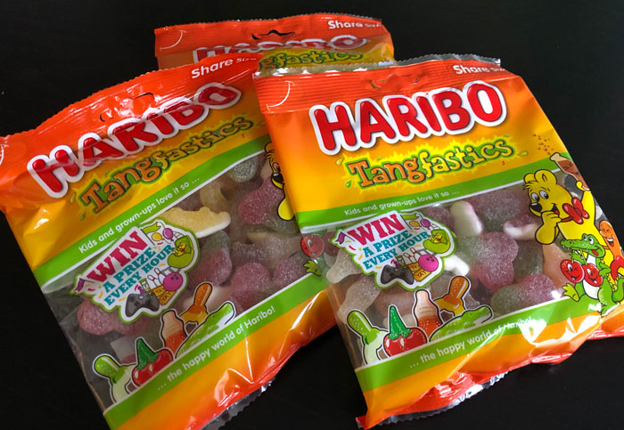 Haribo Prizes instant win promotion