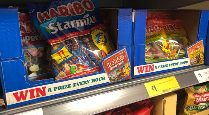Haribo Prizes promotion