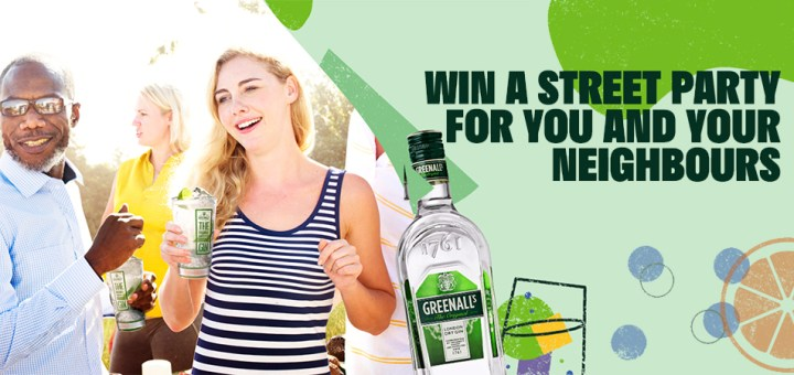 Win a Greenall's Gin Street Party