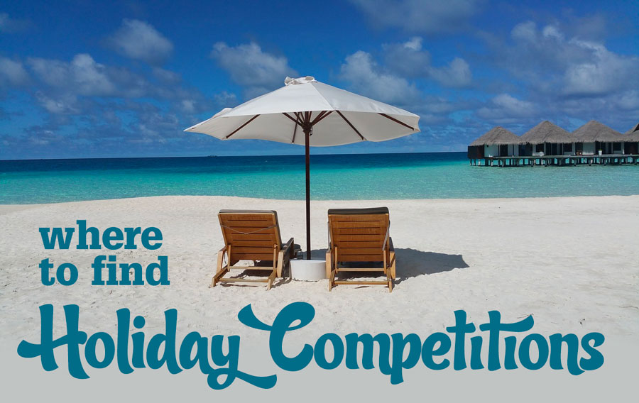 Where to find holiday competitions
