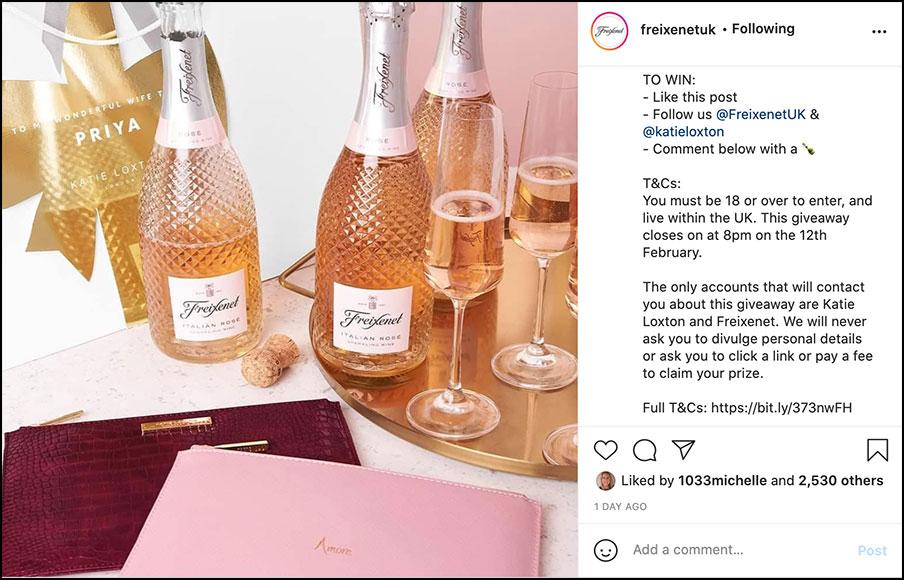 Instagram giveaway tips