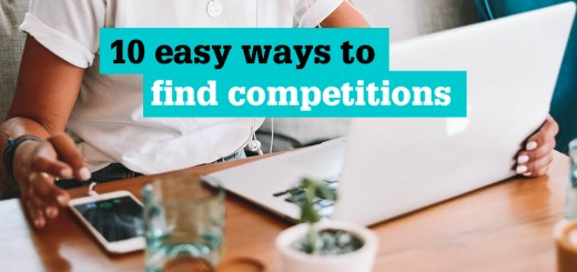 Easy ways to find competitions