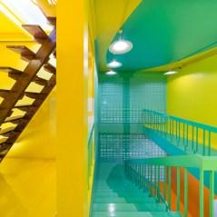 3rd floor hall way