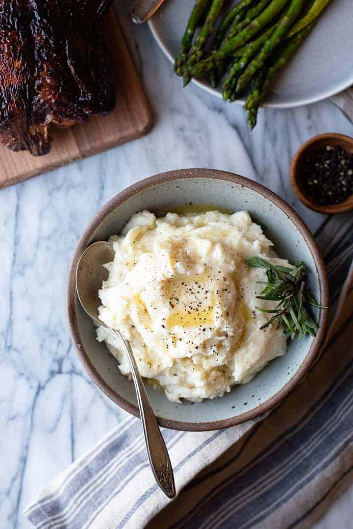 amazing mashed potatoes | superman cooks