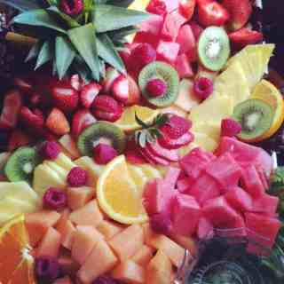 pretty fruit tray
