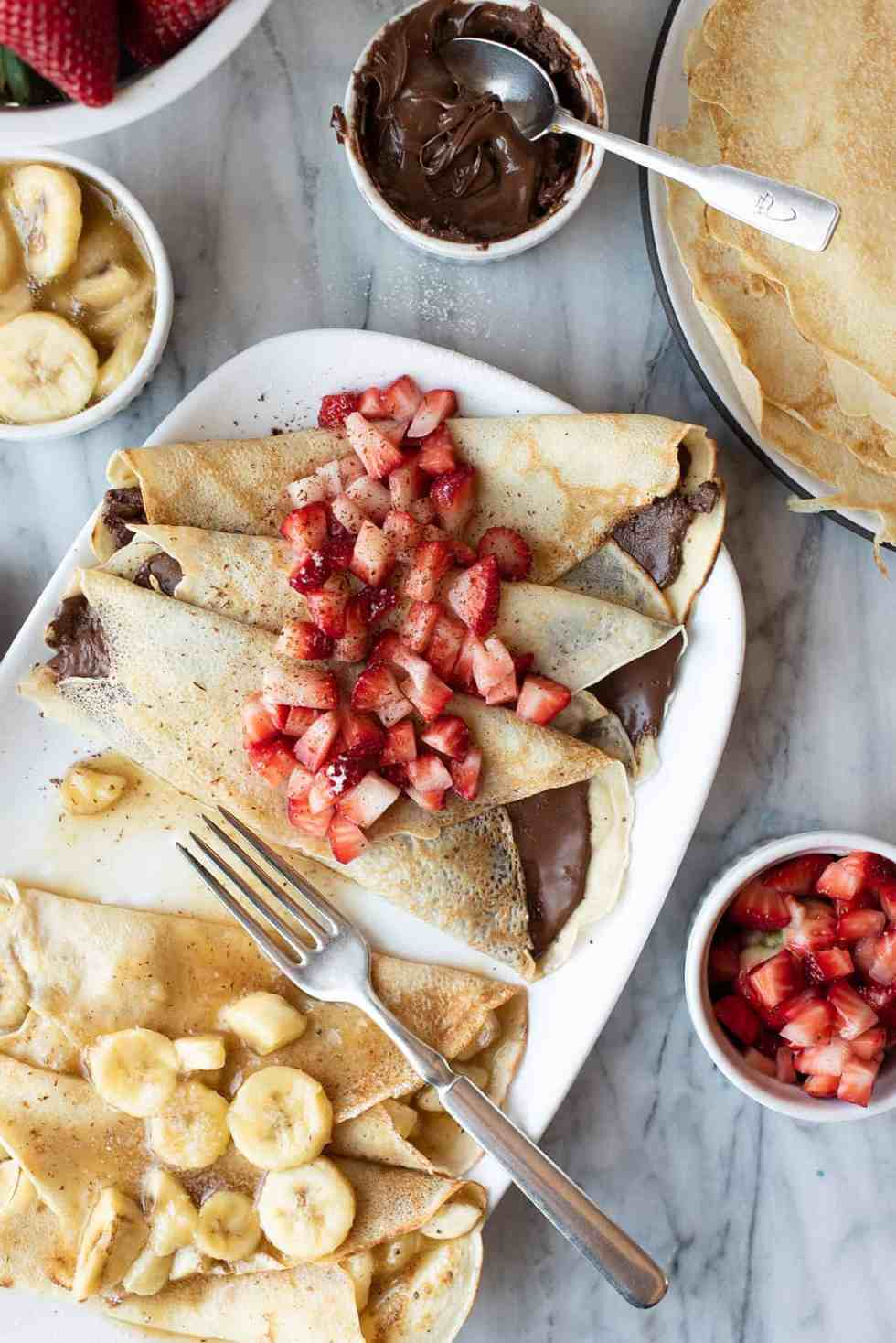 heavenly French crepes | superman cooks