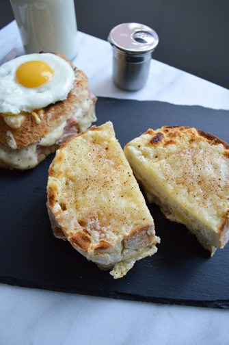croque monsieur/croque madame