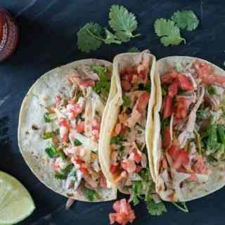 Grilled Chicken Tacos with Sriracha Aioli