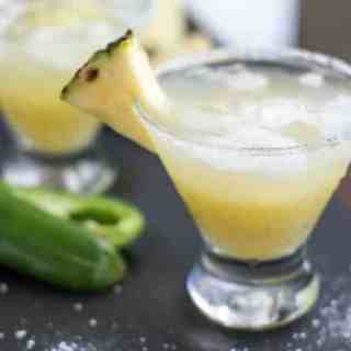 Pineapple Margaritas with a Kick