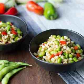Summer Succotash with White Corn & Edamame
