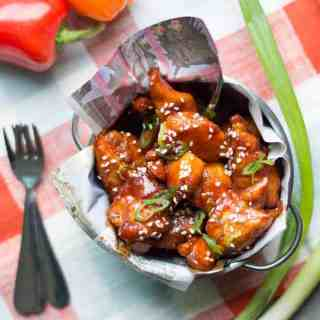 spicy korean boneless chicken wings | superman cooks