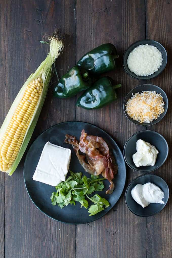 Cheesy Corn-Stuffed Poblano Peppers | superman cooks