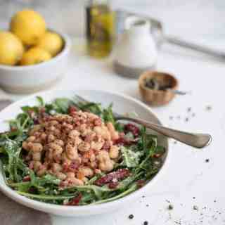 Tuscan White Bean Salad with Pancetta