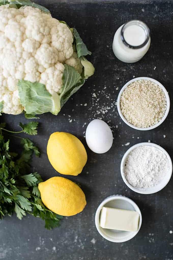 Italian Style Lemony-Roasted Cauliflower Bites | superman cooks