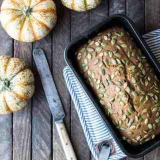 mimi's quick & easy pumpkin bread   superman cooks