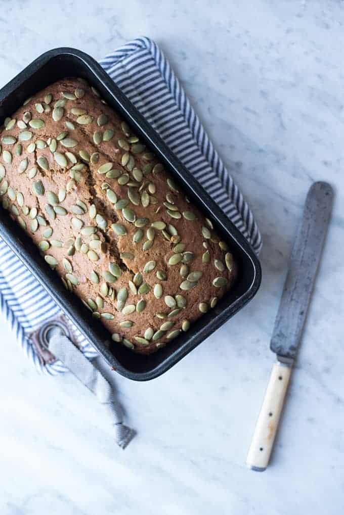 mimi's quick & easy pumpkin bread | superman cooks