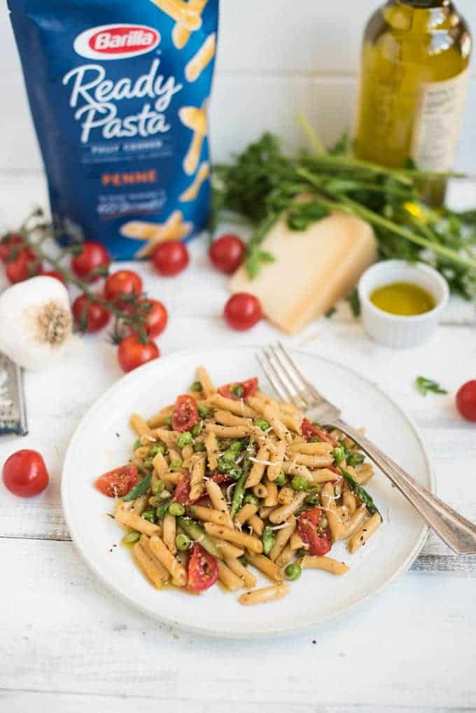Garden Fresh Penne | superman cooks