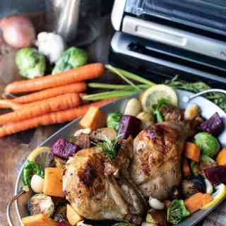 Rosemary Chicken with Roasted Vegetables