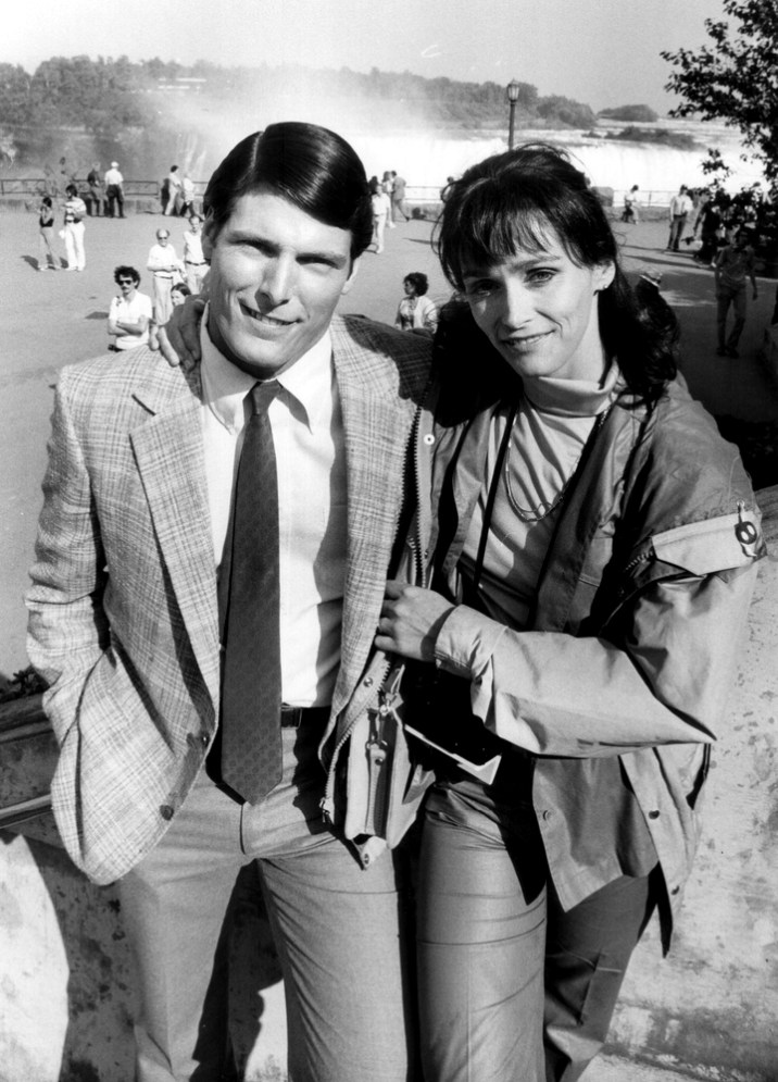 Close Friends: Christopher Reeve and margot Kidder have become good friends since both shot to stard