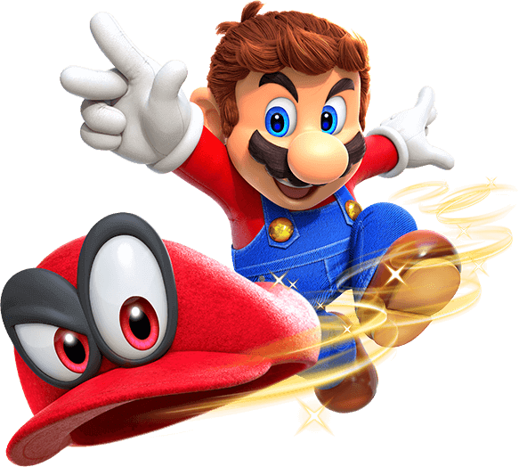 Super Mario Odyssey Pour La Console De Salon Nintendo