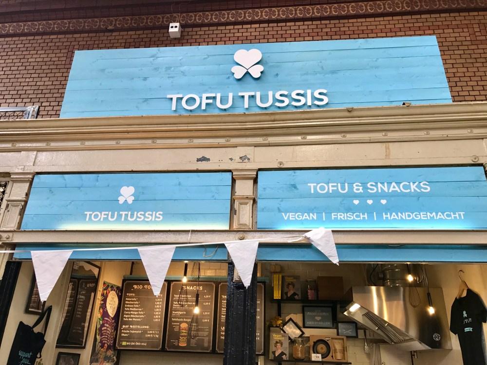 Markthalle 9: Tofu Tussis