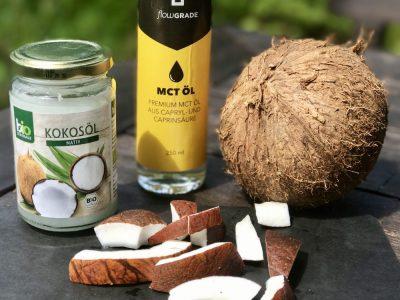 MCT-Öl: Das Fett, das beim Abnehmen hilft ?!