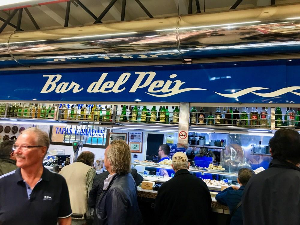 Mercat de l'Olivar Palma: Bar