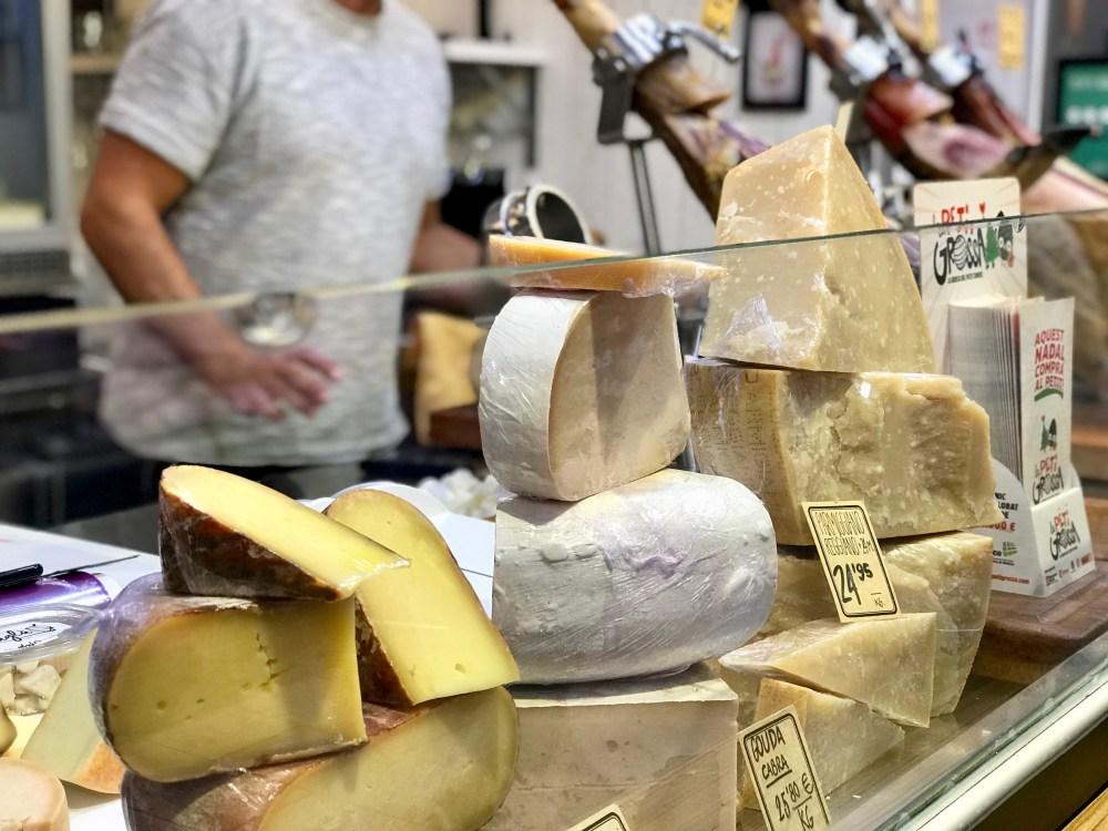 Mercat de l'Olivar Palma: Käse