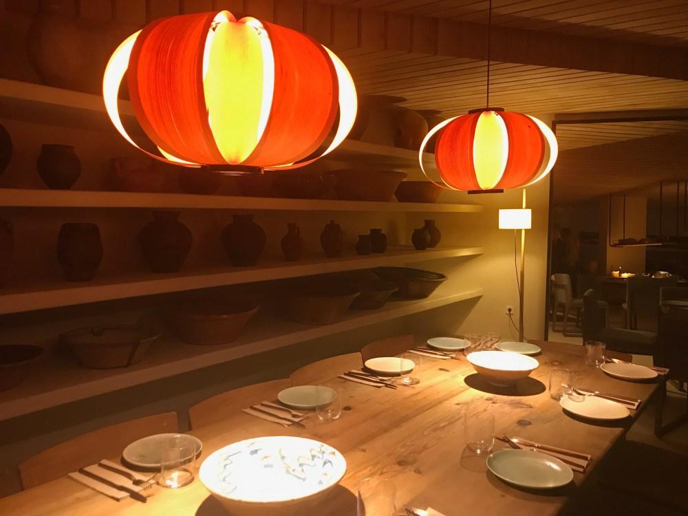 Restaurant Spot Palma: gedeckter Tisch