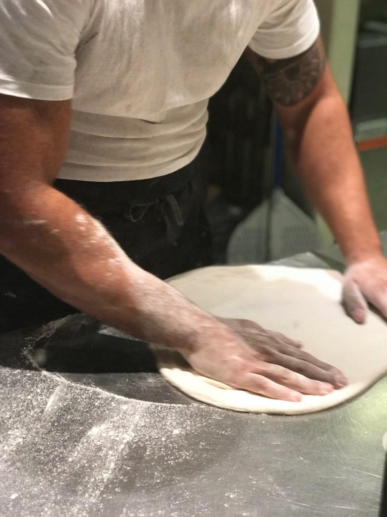 Restaurant Spot Palma: Pizzateig