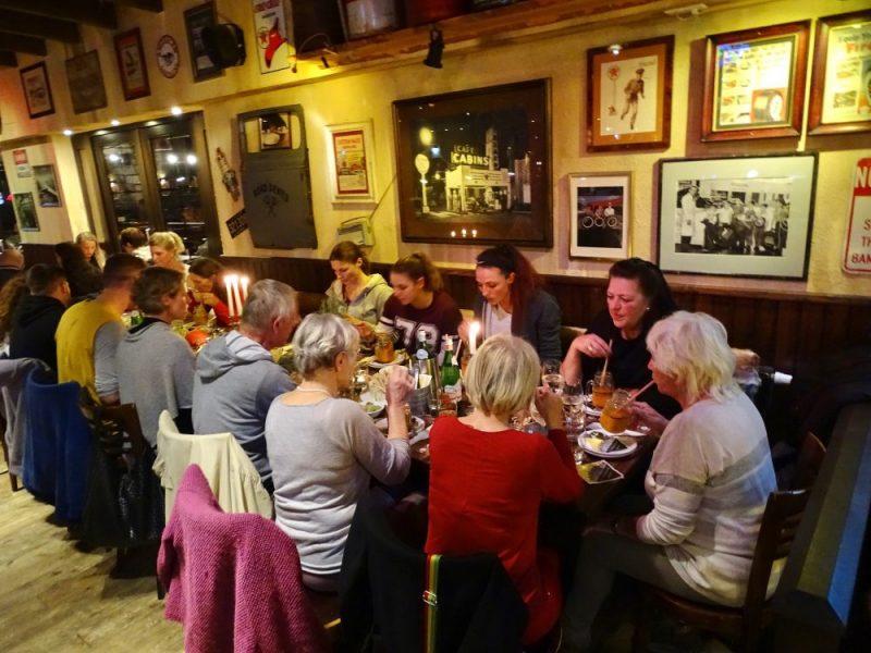 Longrée FitDays meets SuperMenU: Abendessen in geselliger Runde