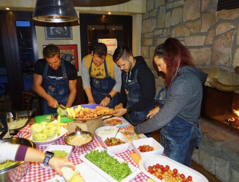 Longrée FitDays meets SuperMenU: Zubereitung gesunder Mahlzeiten