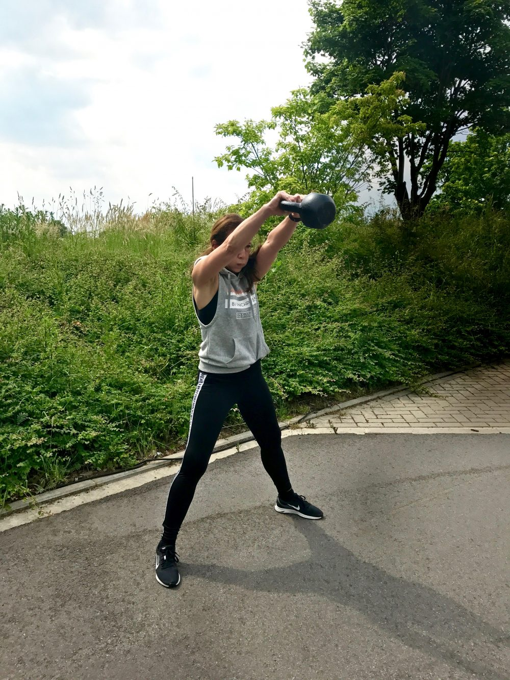 Training mit Kettlebell
