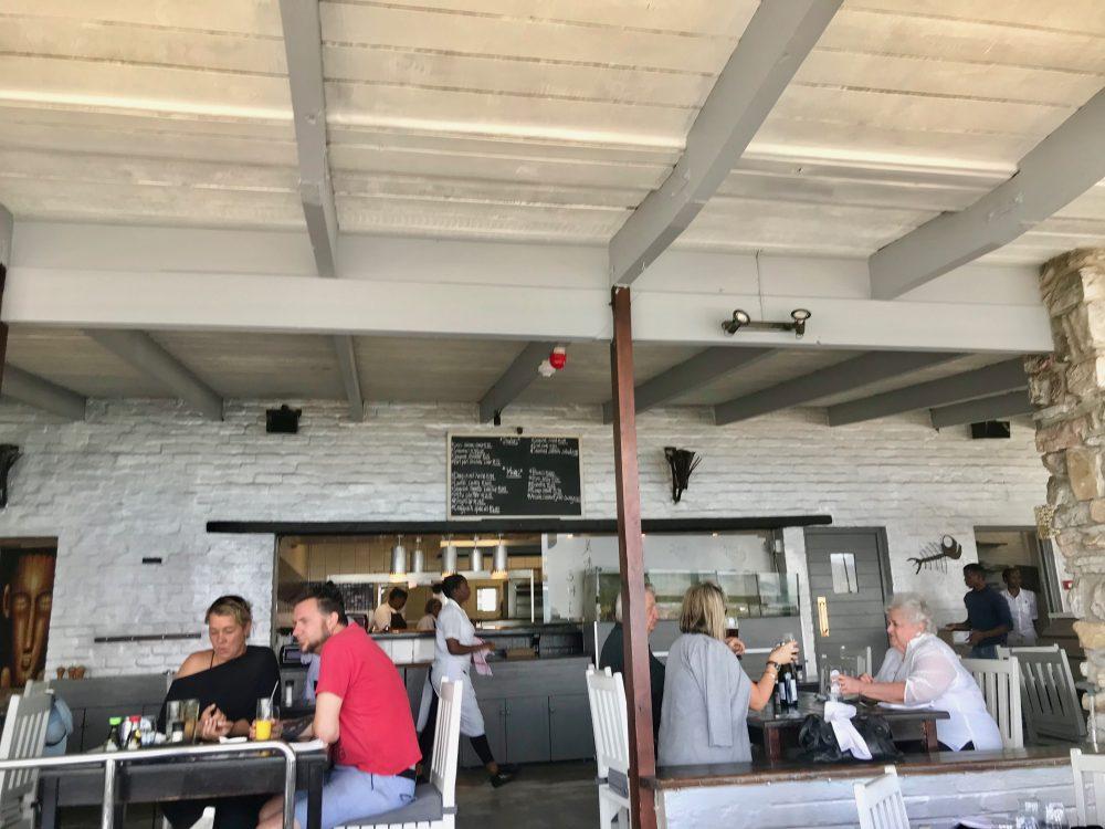 Hermanus: Harbour Rock - offene Küche