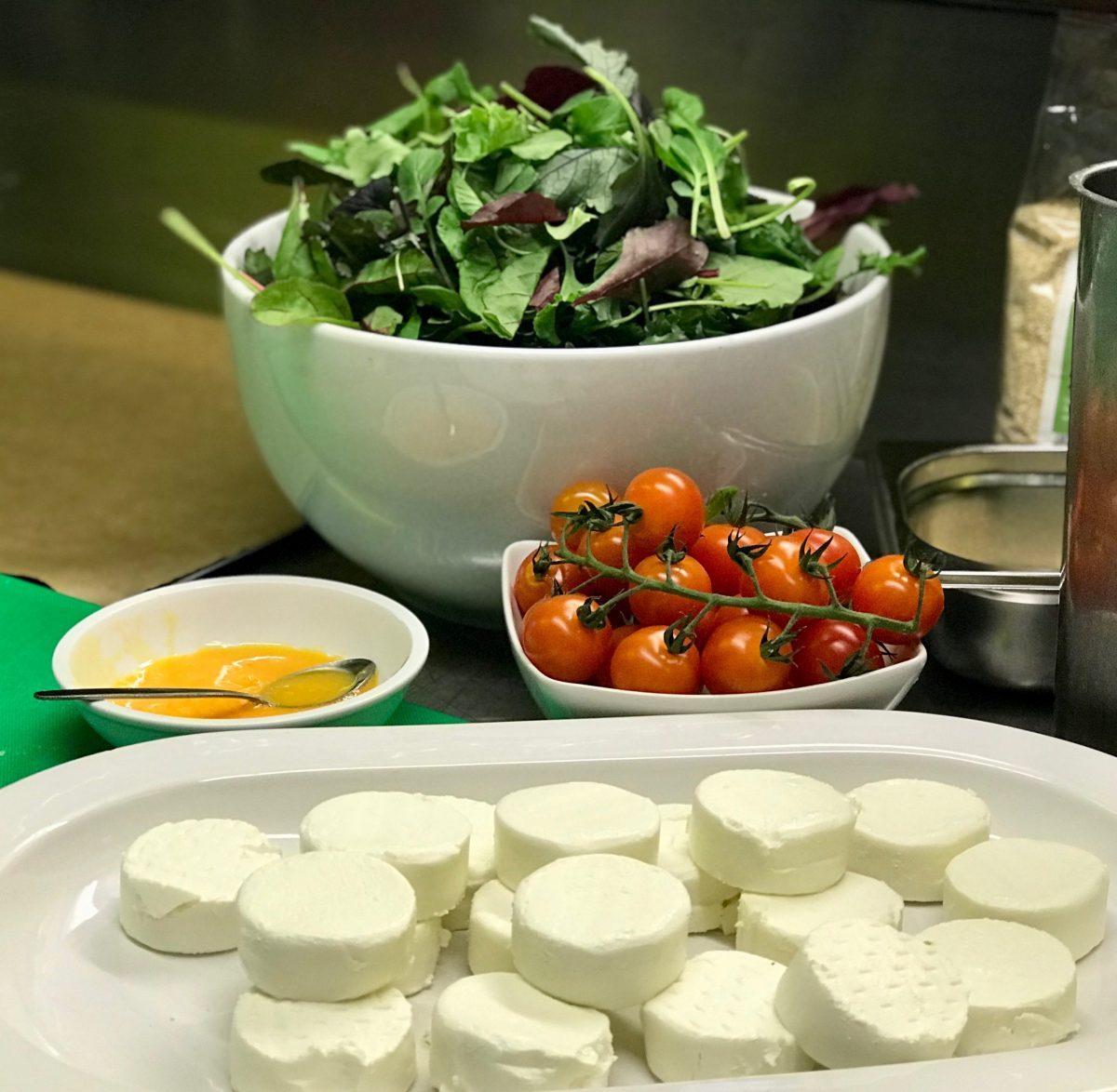 Clean Eating Kochkurs: Salat mit Ziegenkäse