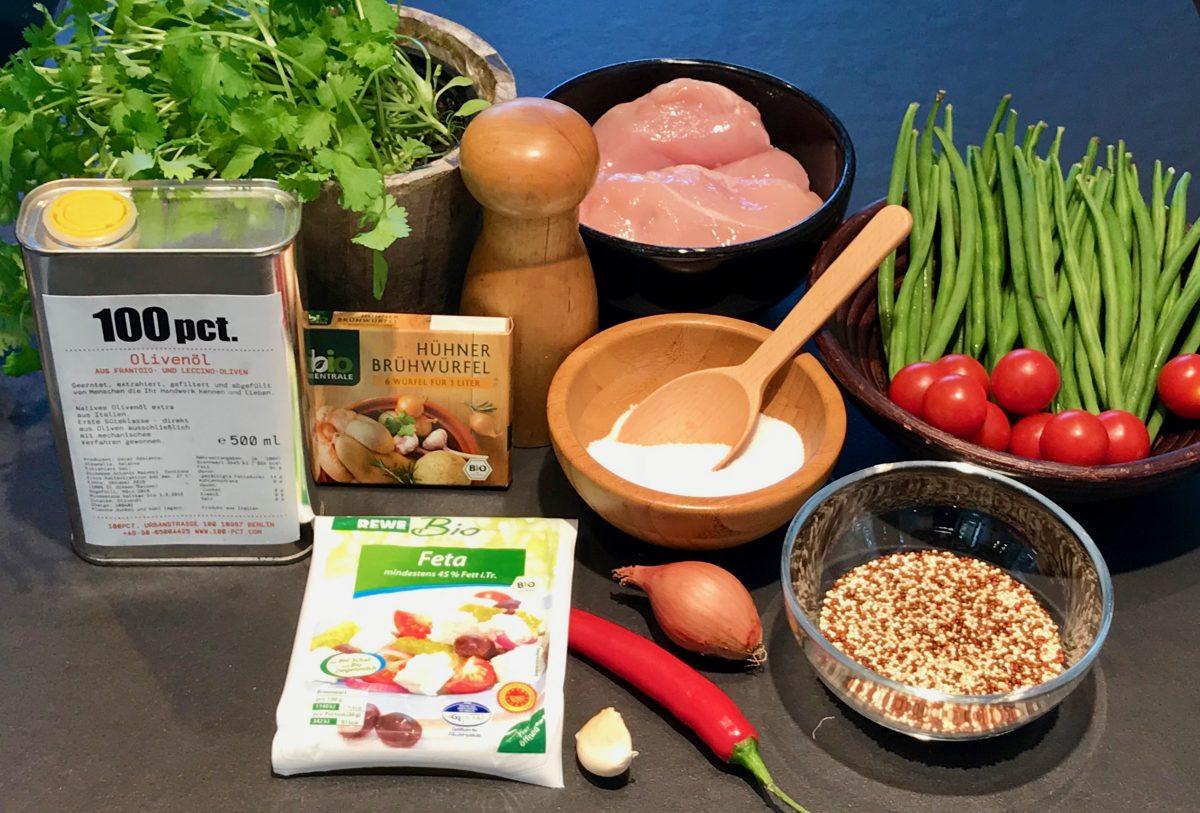Hühneintopf mit Quinoa: Zutaten