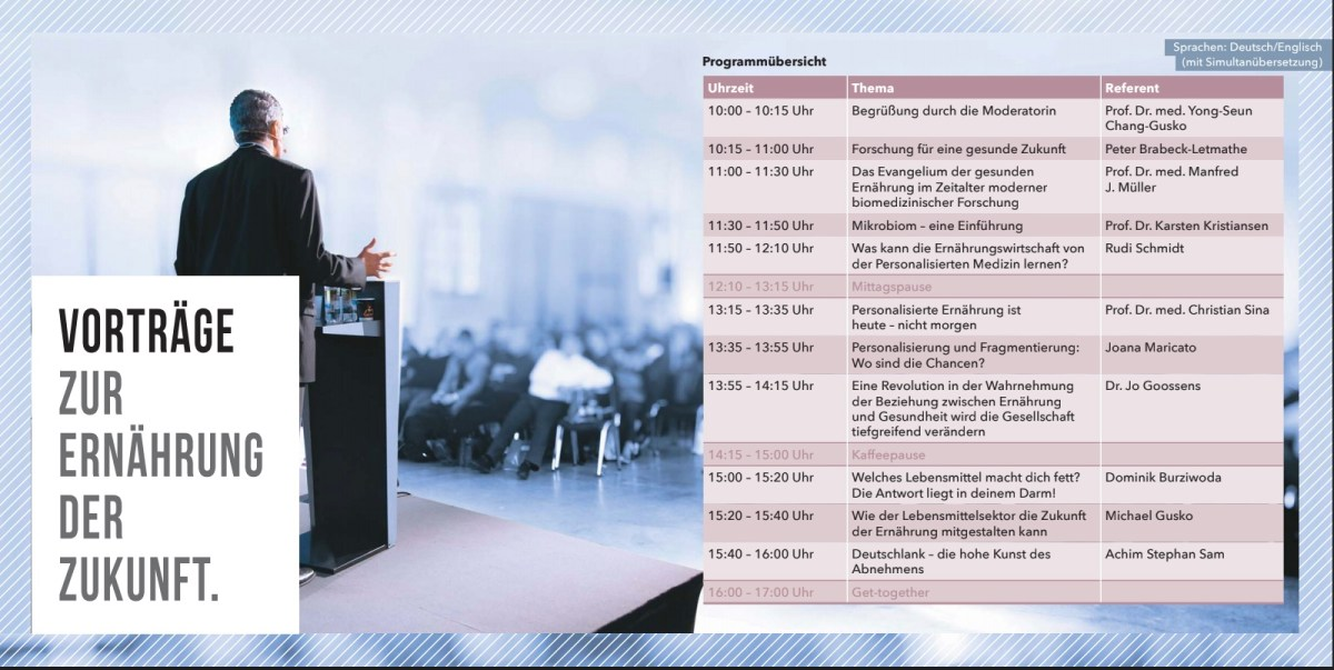 Newtrition X. 2018: Programm