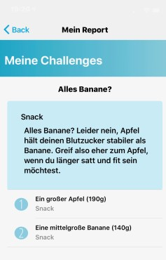 MillionFriends: Auswertung Snack Challenge