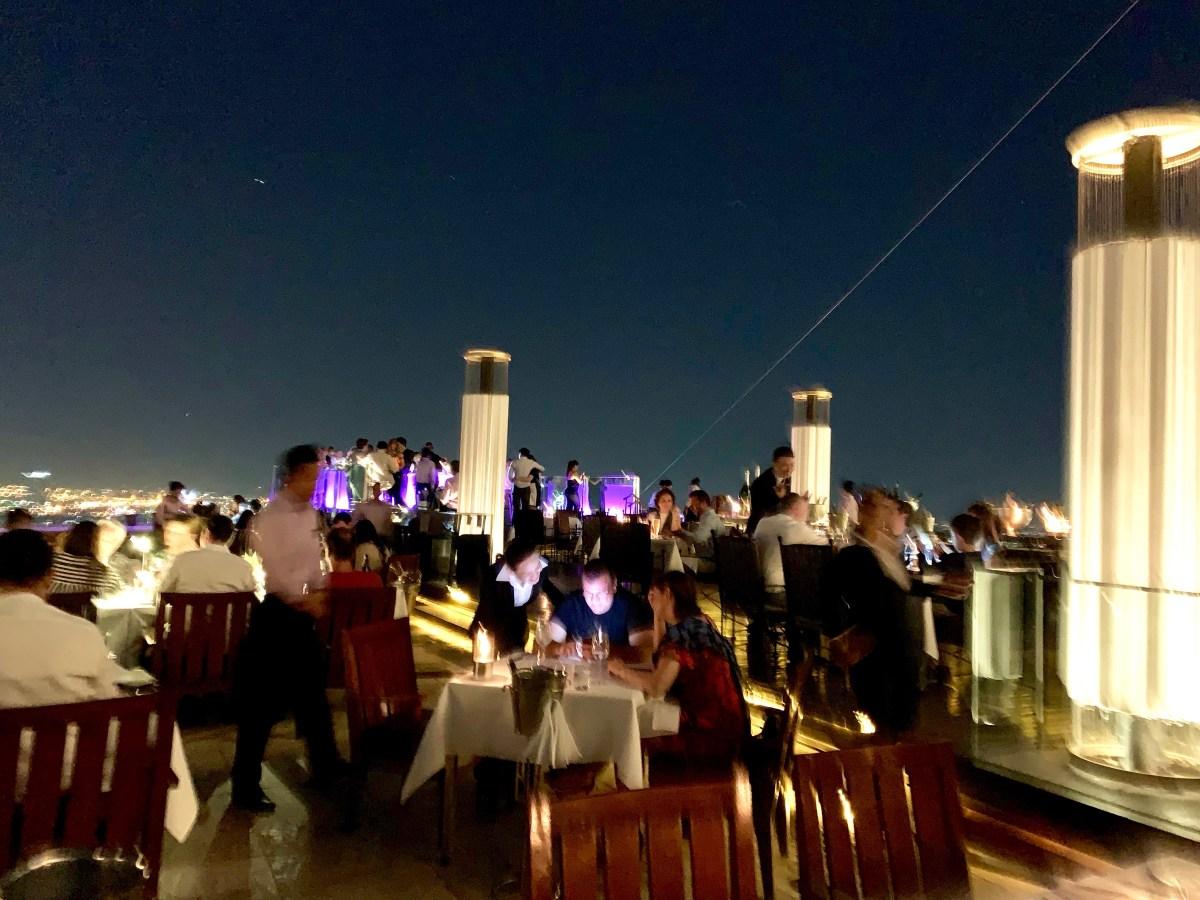 Weltreise: Bangkok Lebua Sirocco-Terasse
