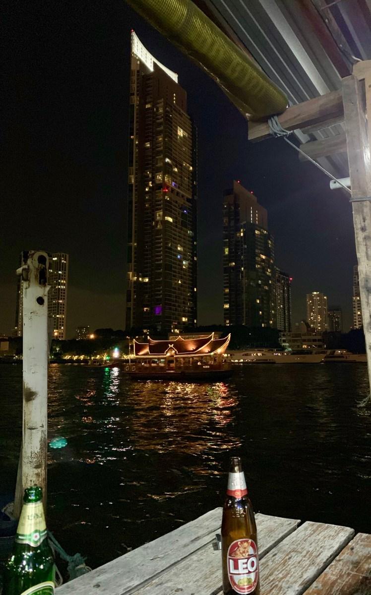 Weltreise: Bangkok Jack´s Food & Drink Aussicht