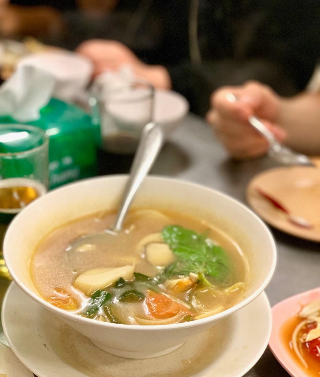 Weltreise: Bangkok Food-Tours-Brühe