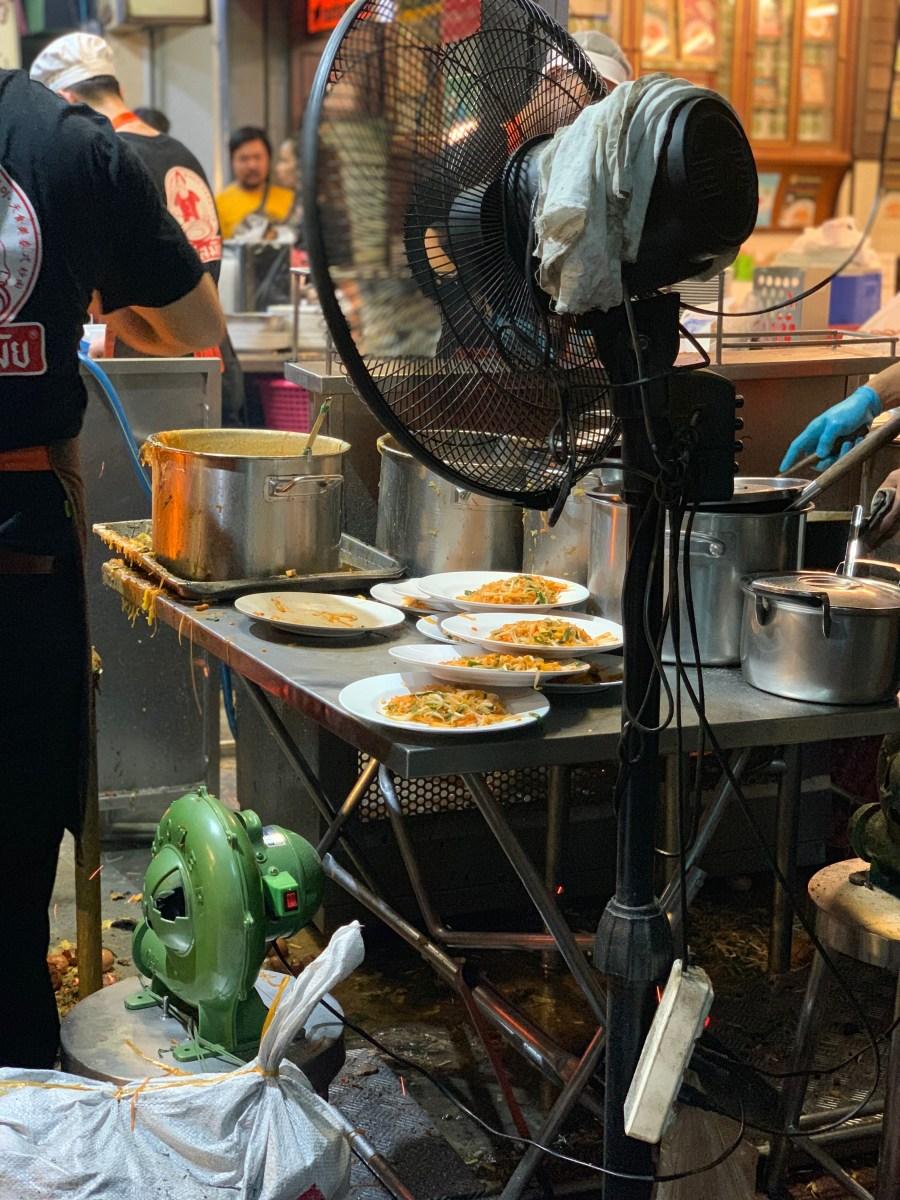 """Weltreise: Bangkok """"Thipsamai Pad Thai"""" 2"""