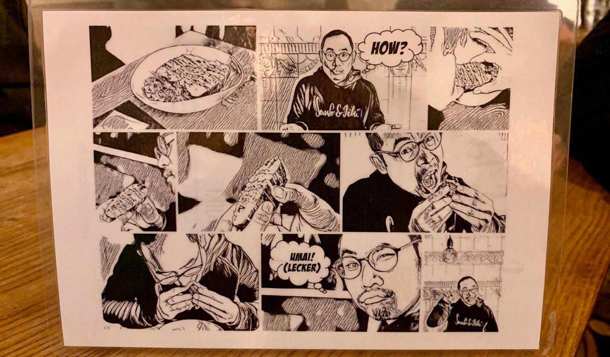 Sando & Ichi: Gebrauchsanweisung als Comic